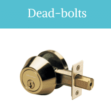 Dead-Bolts Installation with Residential Locksmith Cambridge MA
