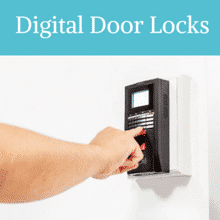 Install  Digital Door Locks with your Commercial Locksmith Cambridge MA