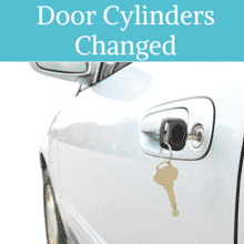 Install New Door Cylinders for your car with your Auto Locksmith Cambridge MA