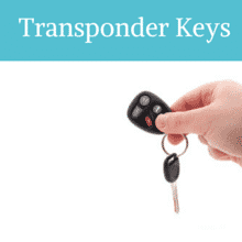 Make Transponder Keys with your Auto Locksmith Cambridge MA