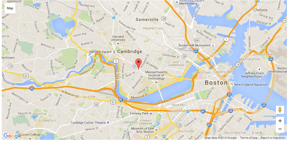 Location of Locksmith Cambridge MA Andrea Locksmith