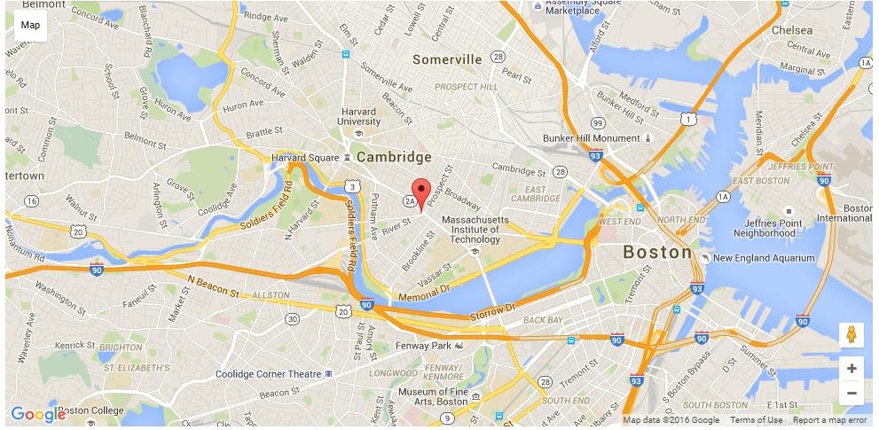 Location of Locksmith Cambridge MA Andrea Locksmith